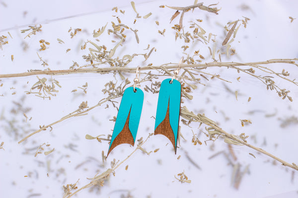 U-Shape Laser-Cut Earrings