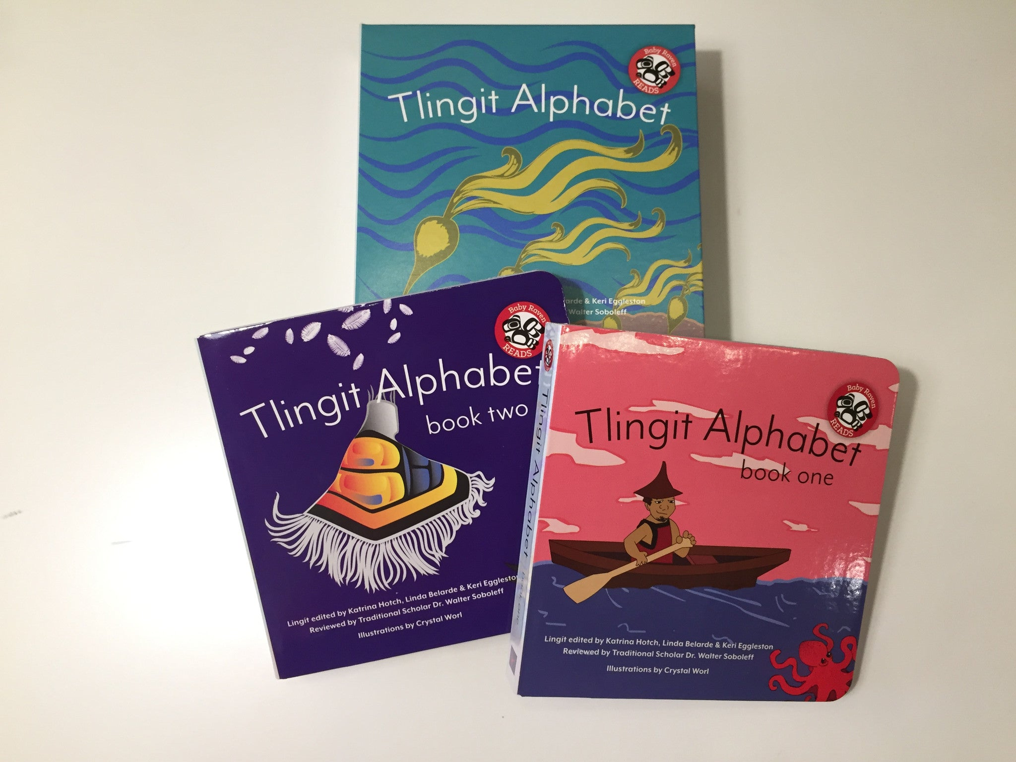 Tlingit Alphabet Book Set