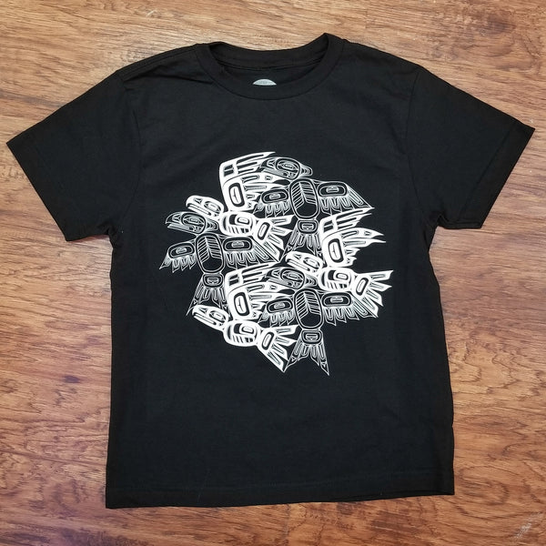 Youth Eagle Raven Tessellation Tee