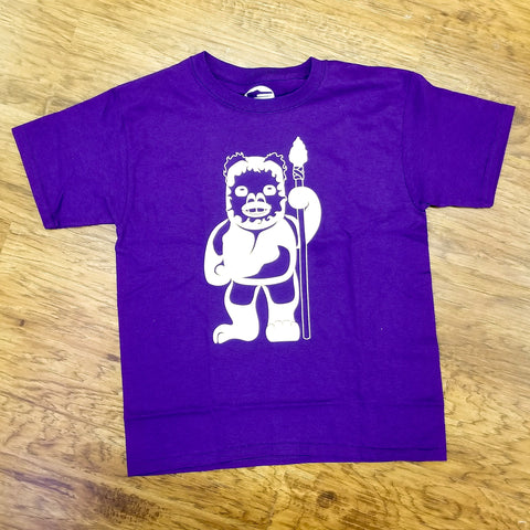 Youth Ewok Tee - Purple