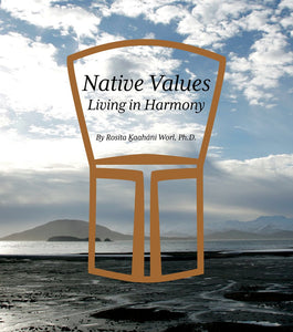 Native Values - Living In Harmony Book