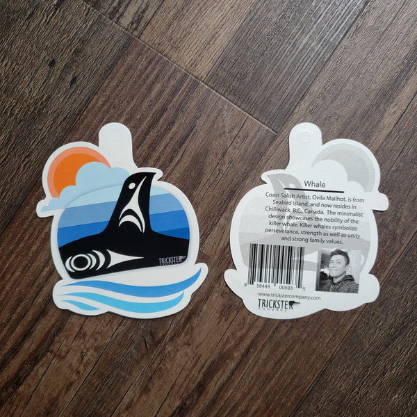 Salish Stickers by Mailhot (2 Styles)