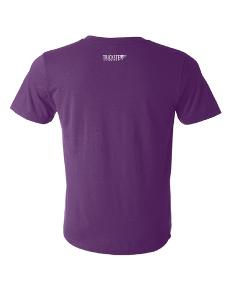 Youth Trickster Tee - PURPLE