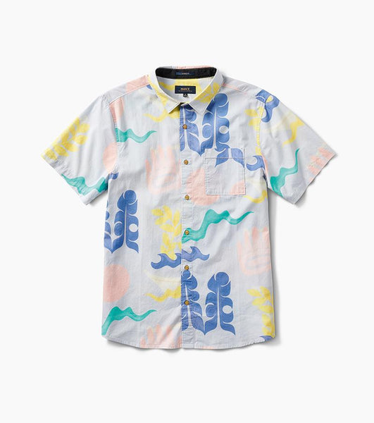 Flora and Fauna Button Up Woven Shirt (LIMITED SUPPLY)