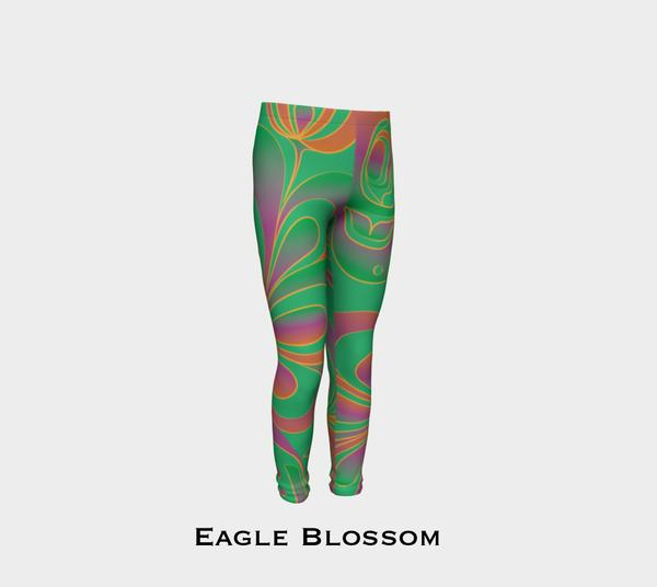 Eagle Blossom Youth Leggings