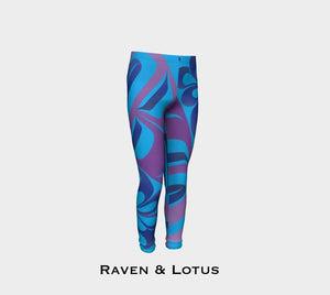 Raven & Lotus Youth Leggings