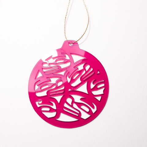 Christmas Ornaments - Family Collection - Acrylic