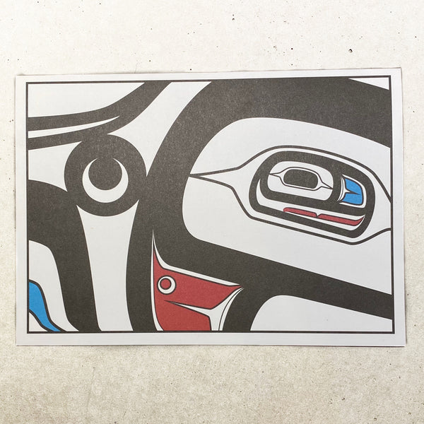 Salmon Spirit - Note Card