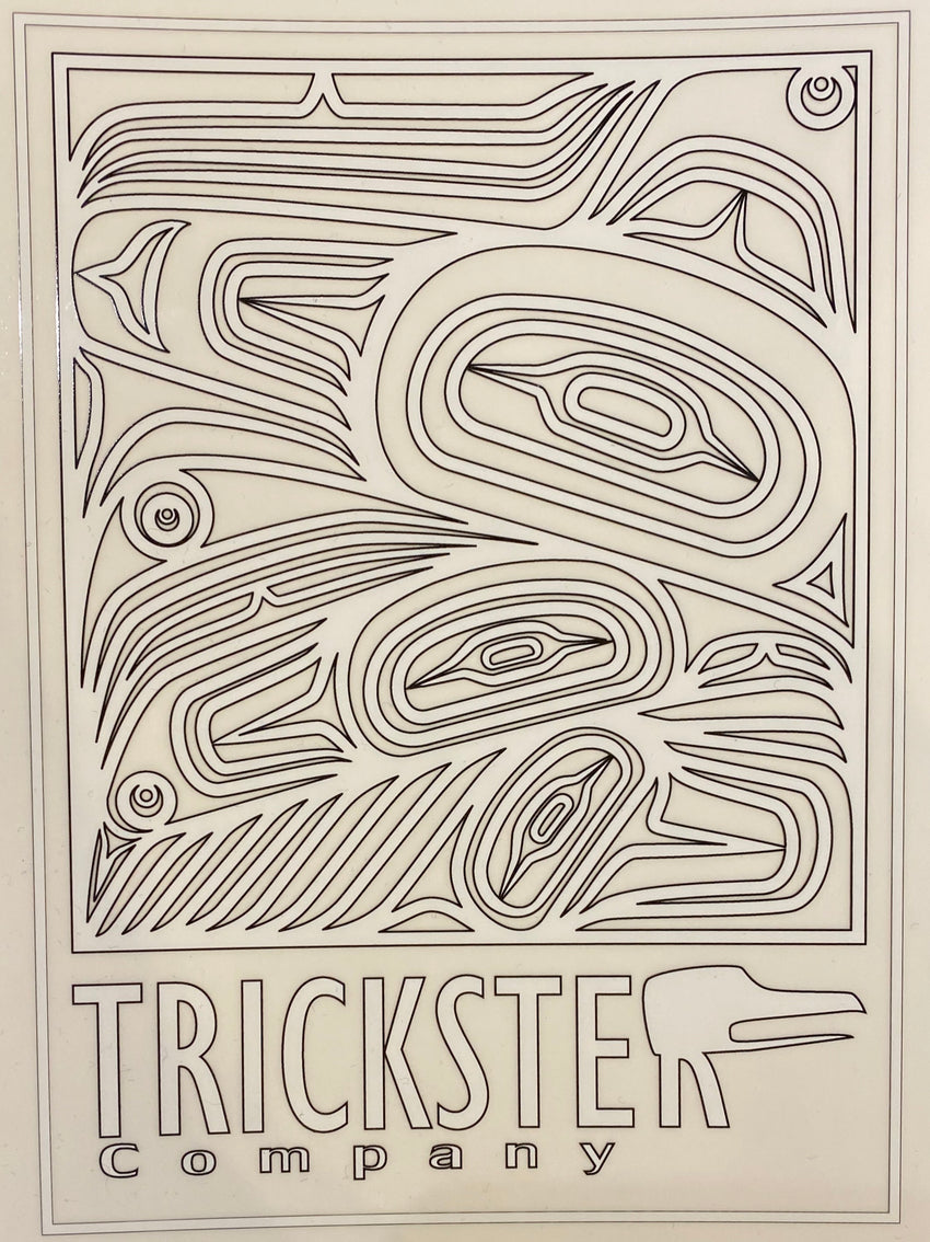 Trickster Logo Decorative Sticker