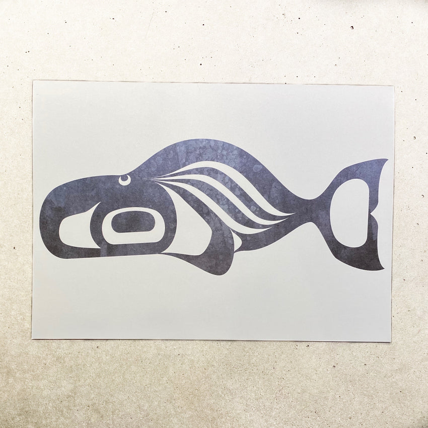 Whale - Note Card