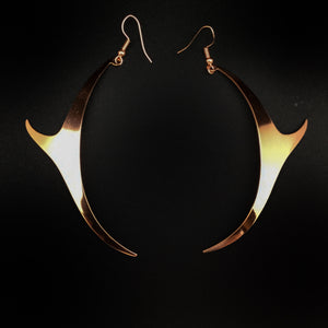 Copper Earrings by Alyssa London