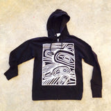 Transforming Raven Zip Hoodies