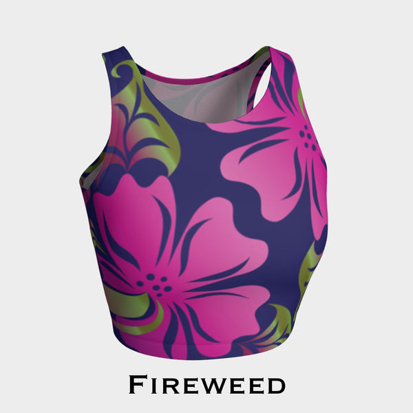 Raven & Fireweed Athletic Crop Top