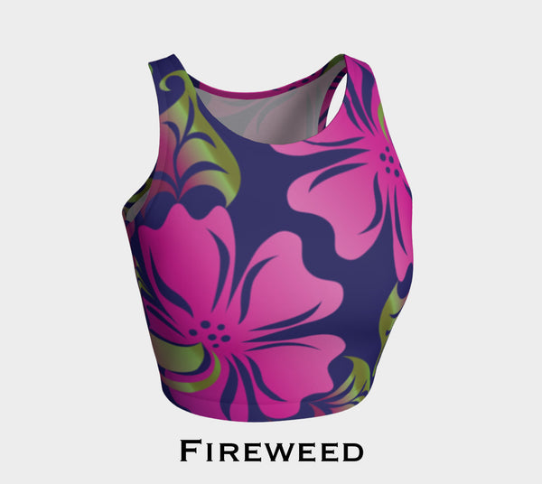 Raven & Fireweed Crop Top