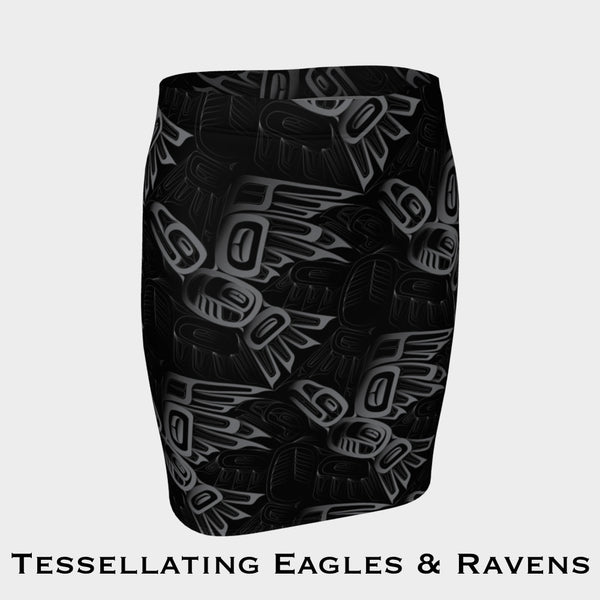 Eagle & Raven Tessellation Fitted Skirt