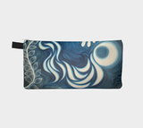 White Raven Painting Pouch