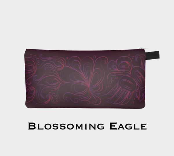 Blossoming Eagle Painting Pouch