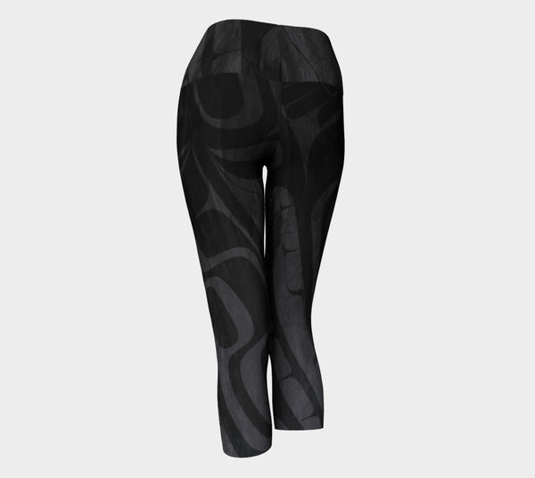 Black Bear Capri Leggings