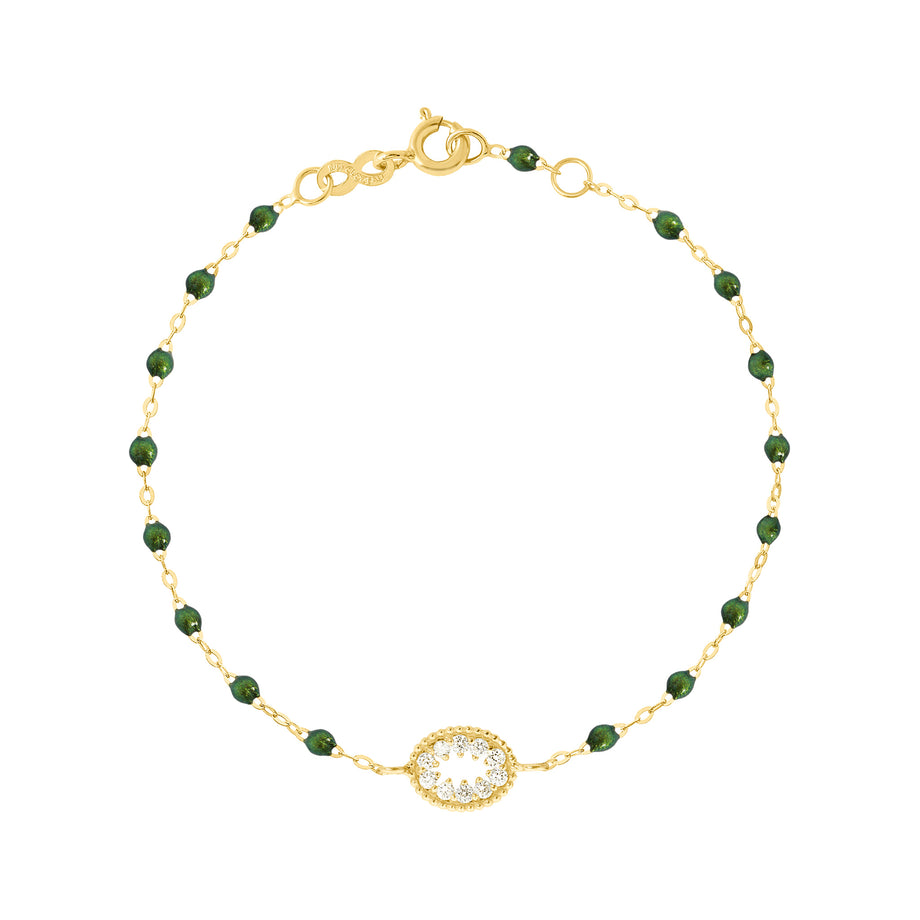 Classic Gigi Scarab Me Hearty Bracelet, Yellow Gold, 6.7