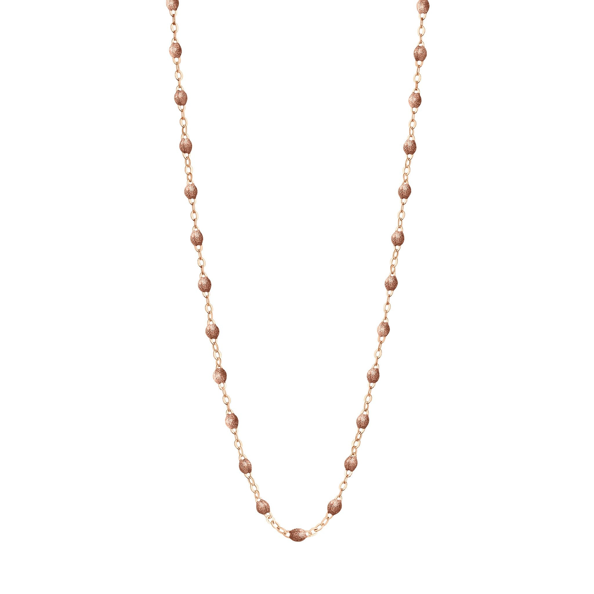 Gigi Clozeau - Classic Gigi Copper necklace, Rose Gold, 16.5""