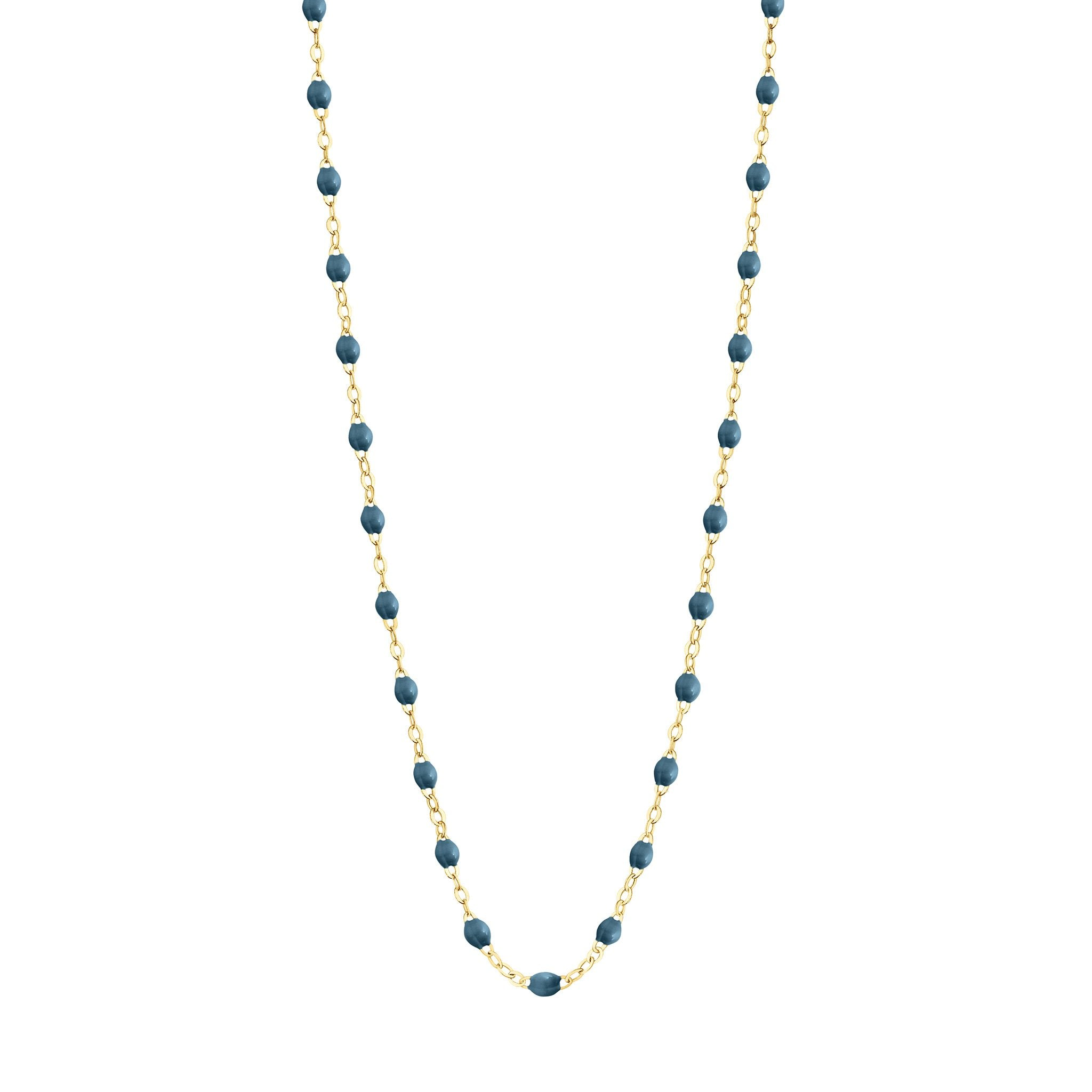Gigi Clozeau - Classic Gigi Jeans necklace, Yellow Gold, 17.7""