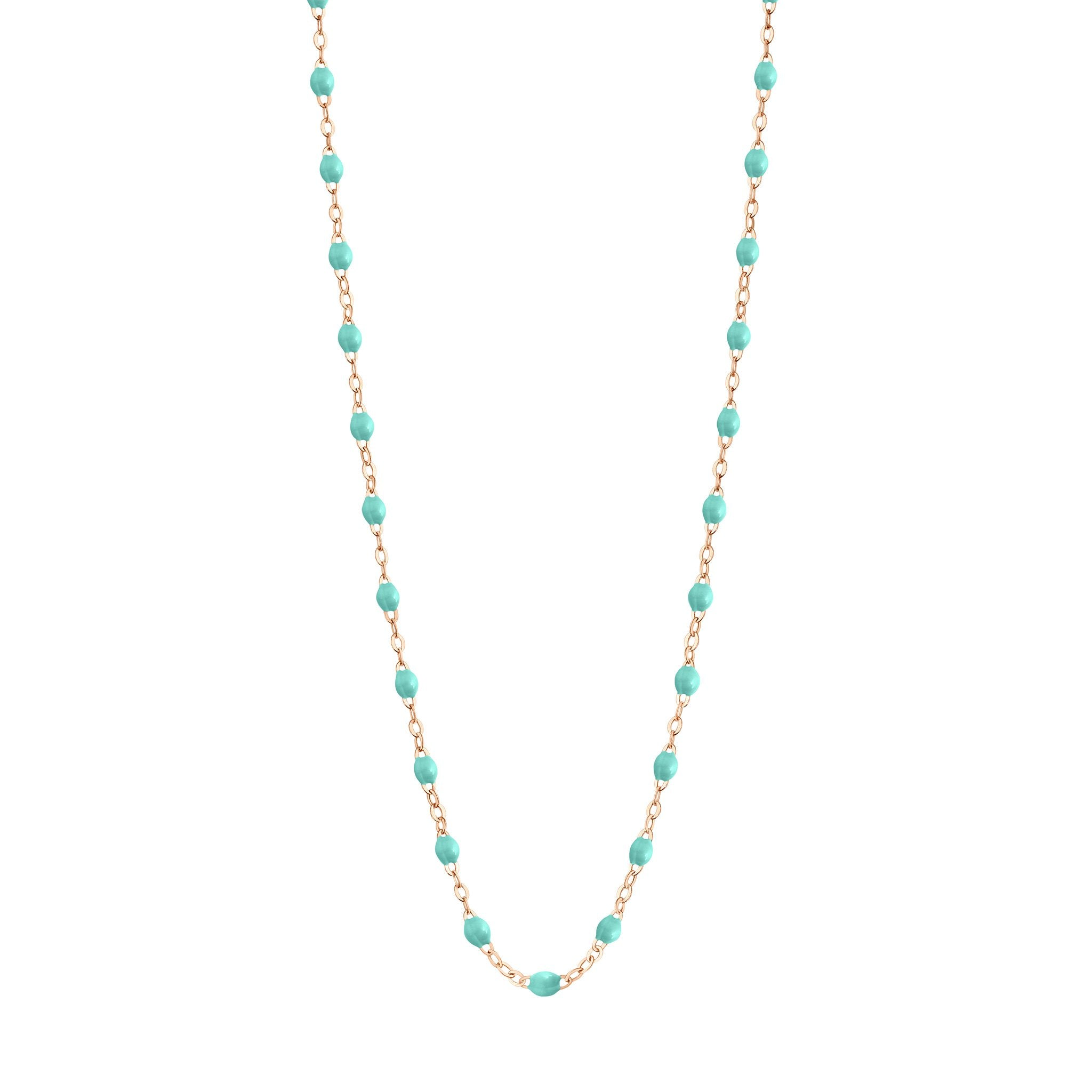 Gigi Clozeau - Classic Gigi Lagoon necklace, Rose Gold, 16.5""