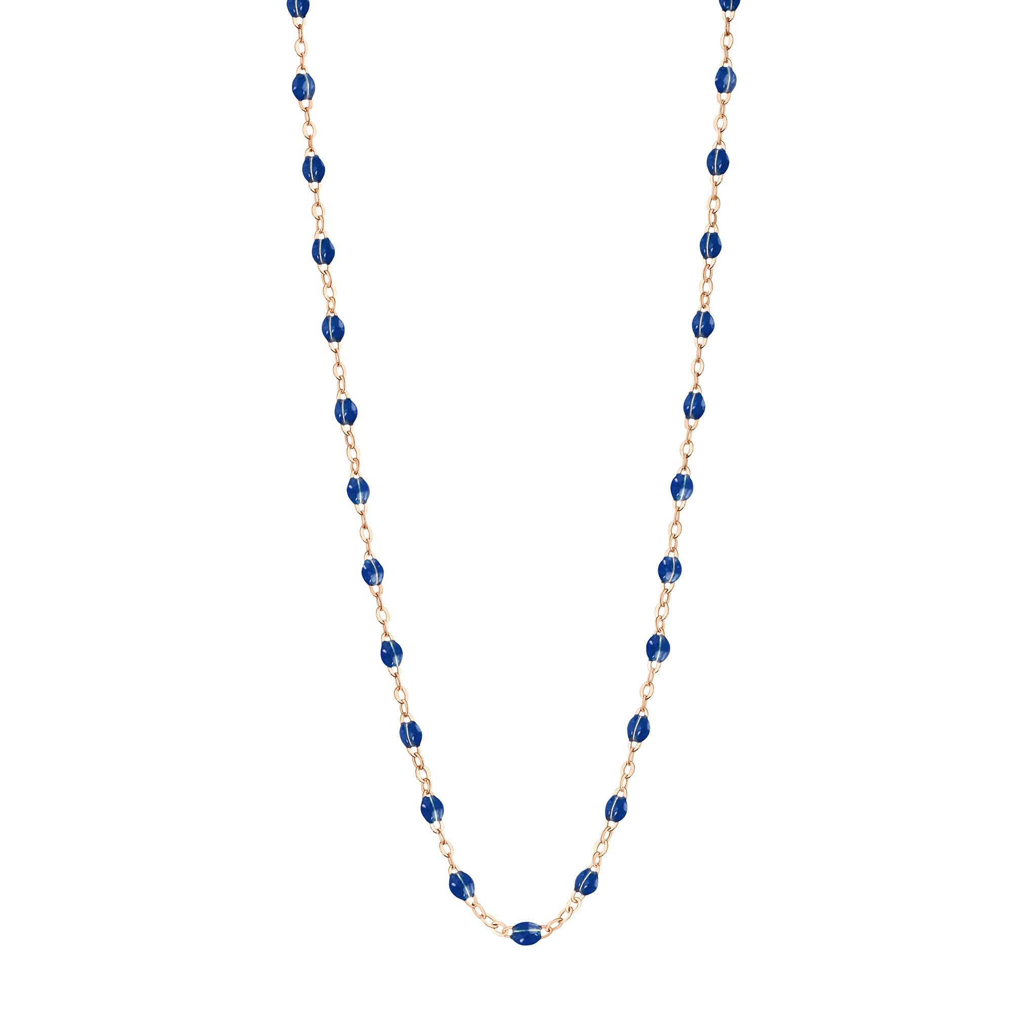 Gigi Clozeau - Classic Gigi Lapis necklace, Rose Gold, 16.5""