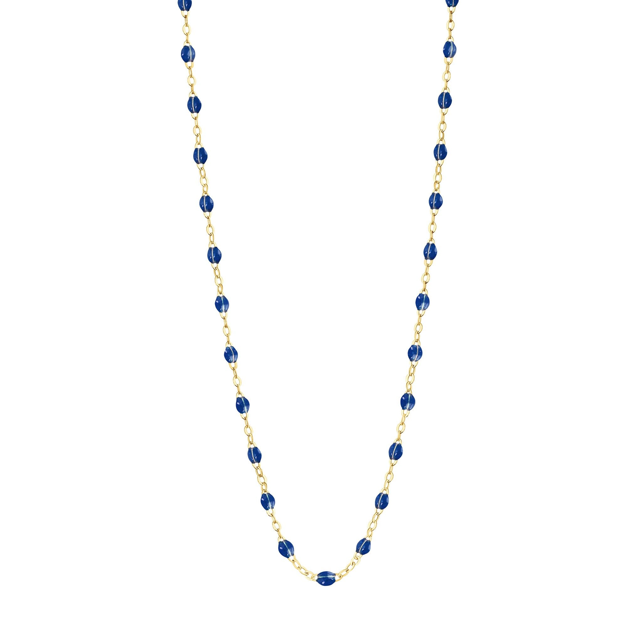 Gigi Clozeau - Classic Gigi Lapis necklace, Yellow Gold, 17.7""