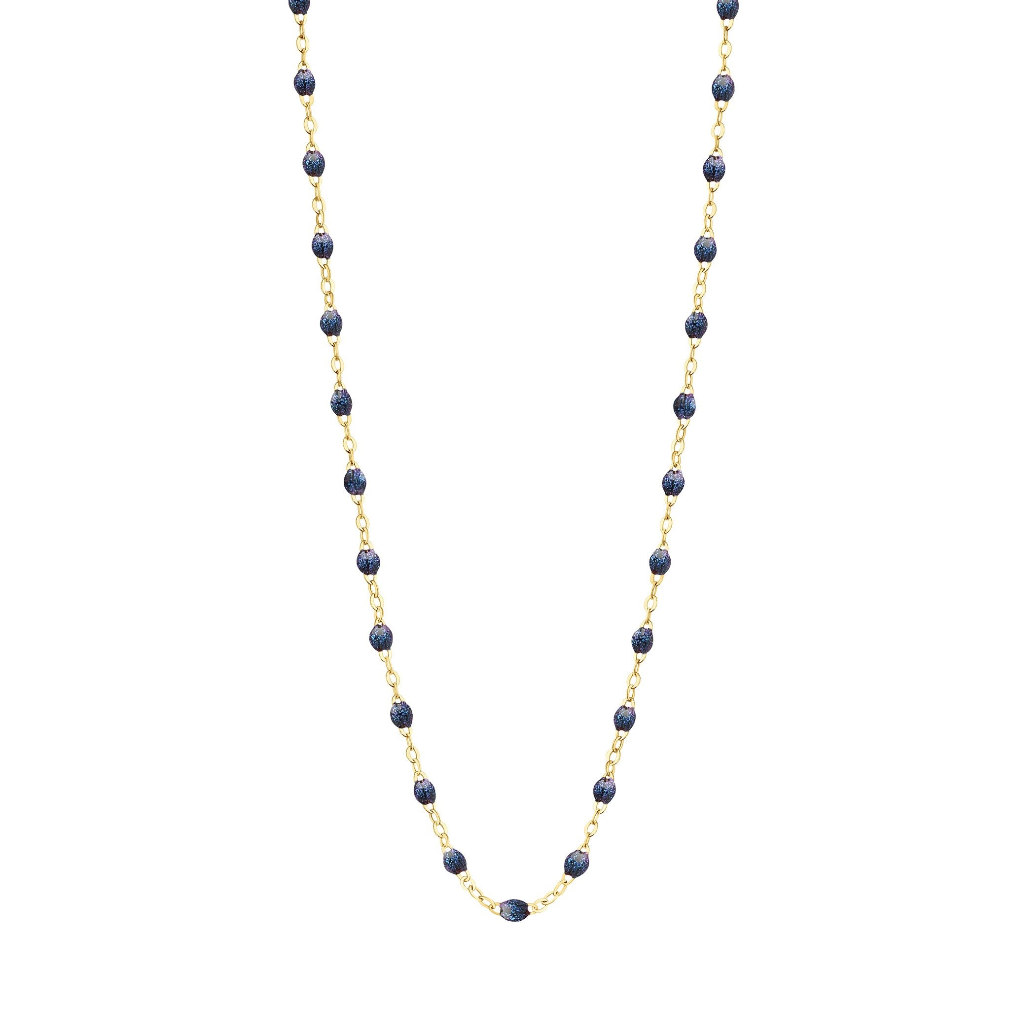 Gigi Clozeau - Classic Gigi Midnight necklace, yellow gold, 16.5
