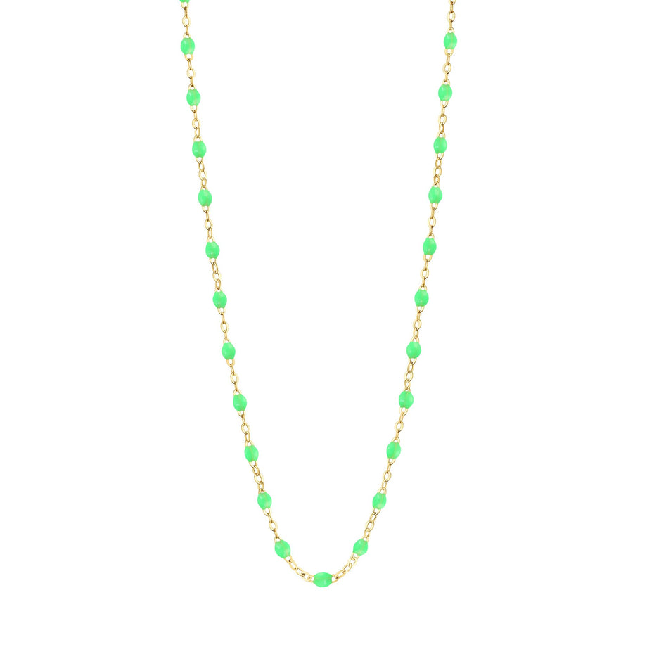Gigi Clozeau - Classic Gigi Neon necklace, yellow gold, 16.5