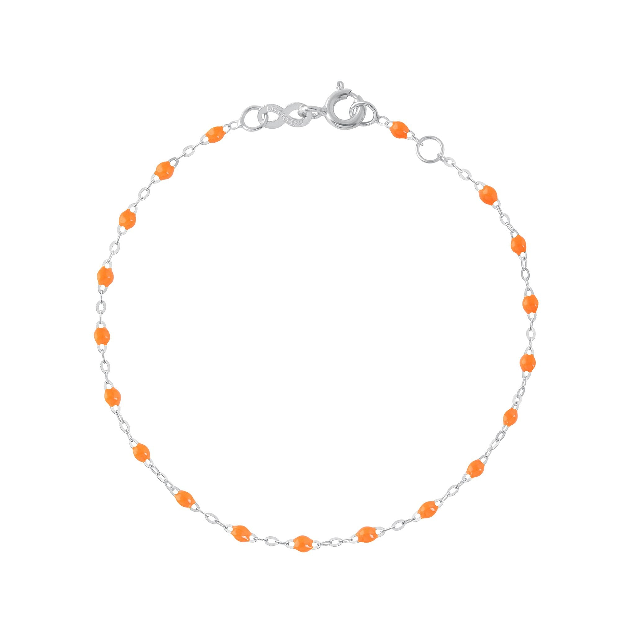 Gigi Clozeau - Classic Gigi Orange bracelet, White Gold, 6.7