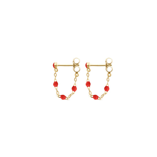 Gigi Clozeau - Classic Gigi Poppy earrings, Yellow Gold