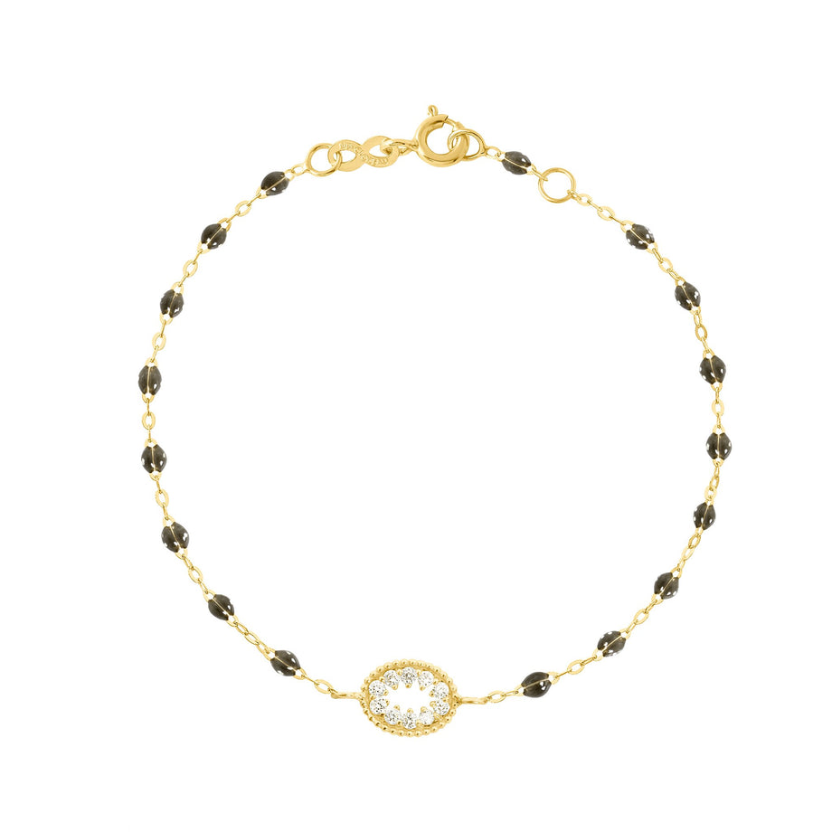 Gigi Clozeau - Classic Gigi Quartz Me Hearty Bracelet, Yellow Gold, 6.7