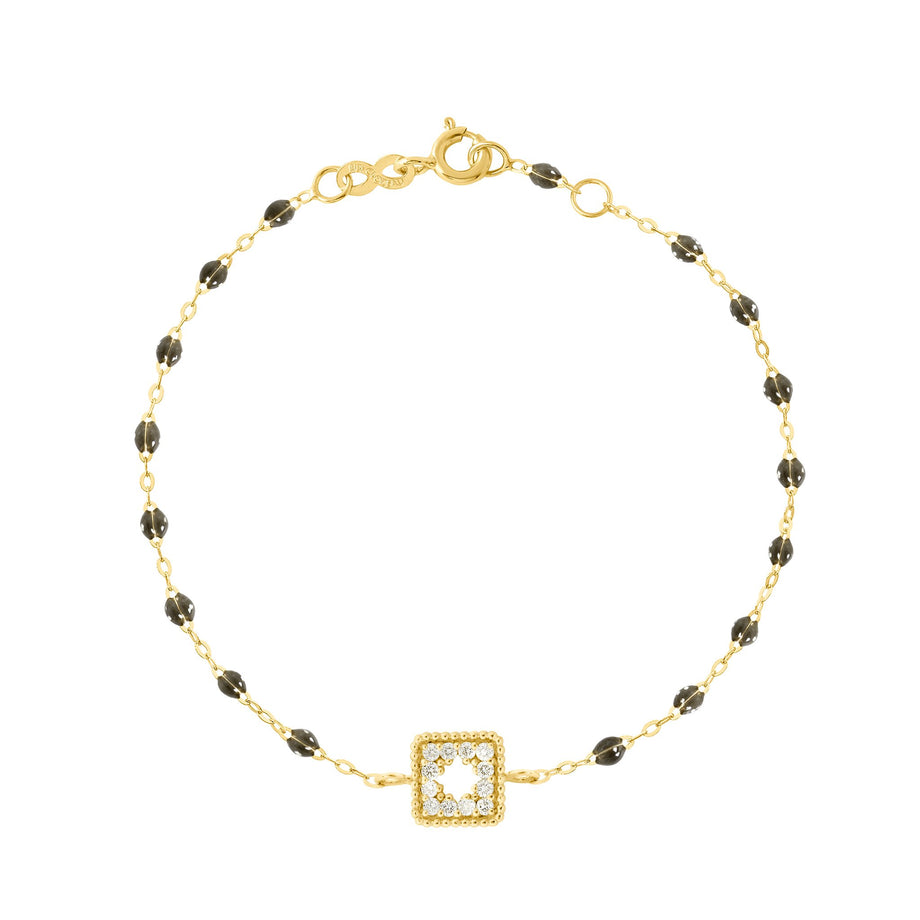 Gigi Clozeau - Classic Gigi Quartz Treasure Bracelet, Yellow Gold, 6.7