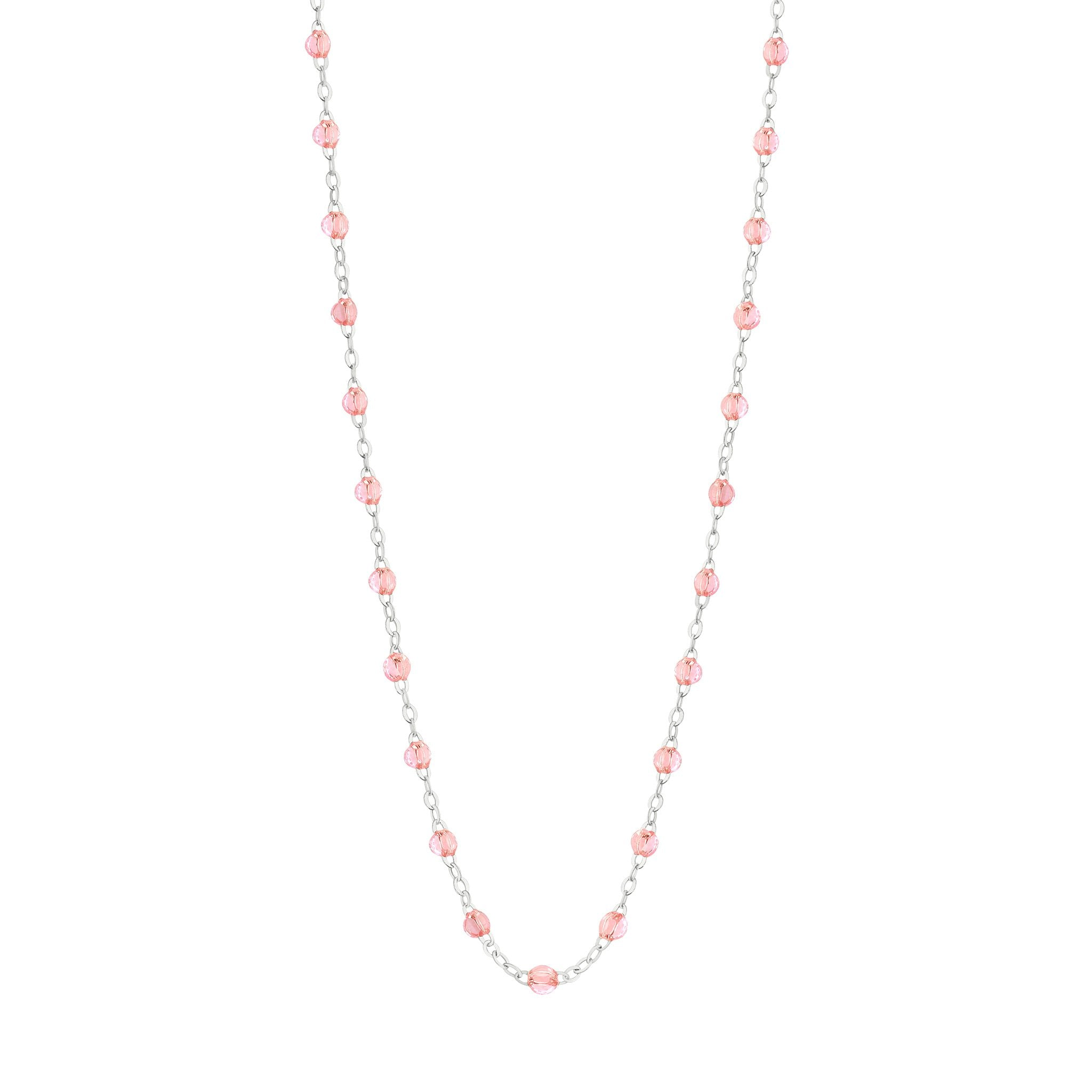 Gigi Clozeau - Classic Gigi Rosée necklace, White Gold, 16.5""