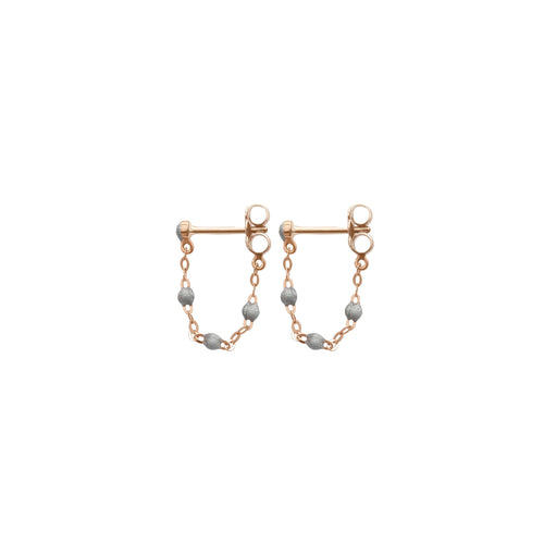 Gigi Clozeau - Classic Gigi Silver earrings, Rose Gold