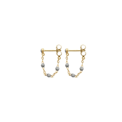 Gigi Clozeau - Classic Gigi Silver earrings, Yellow Gold