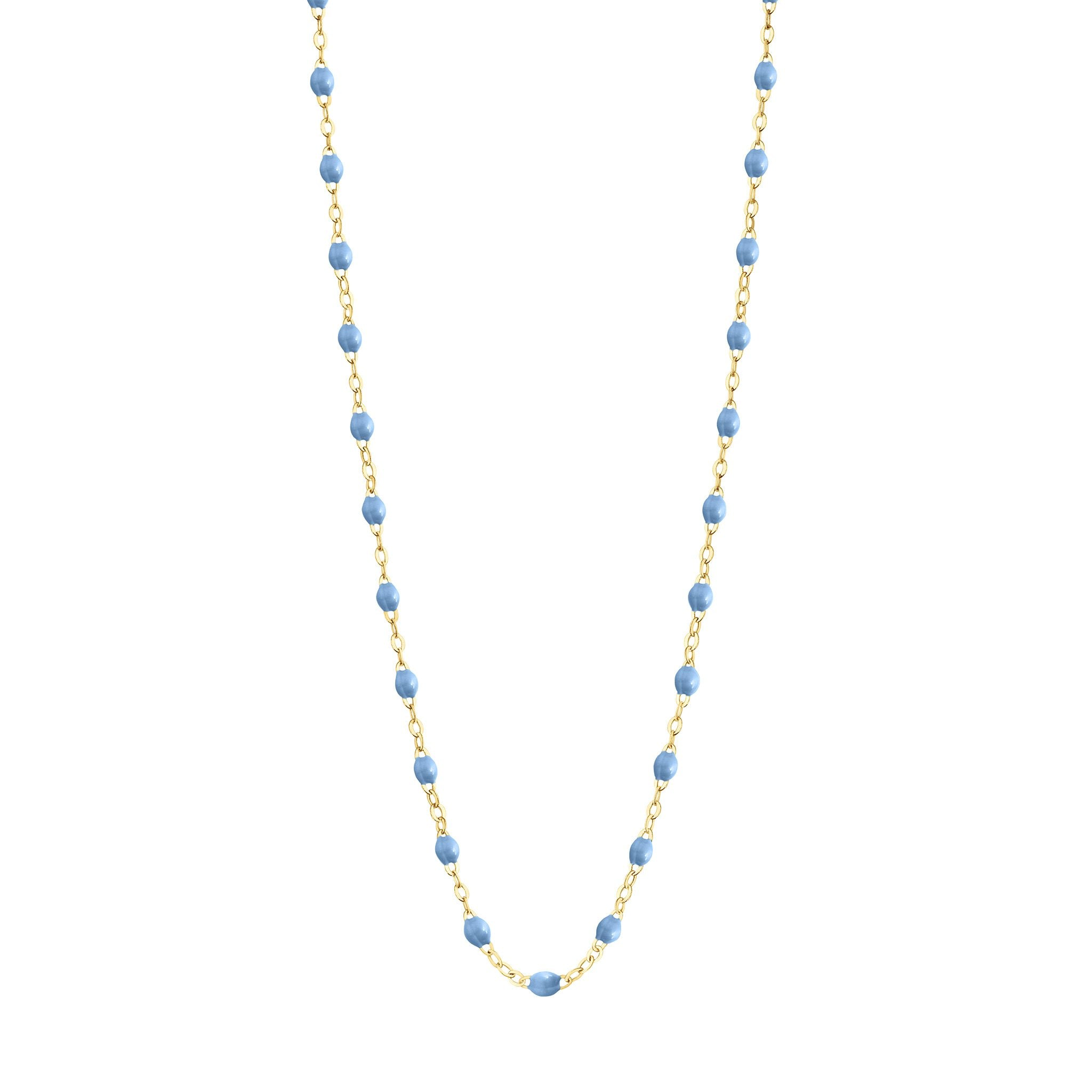 Gigi Clozeau - Classic Gigi Sky necklace, Yellow Gold, 19.7""