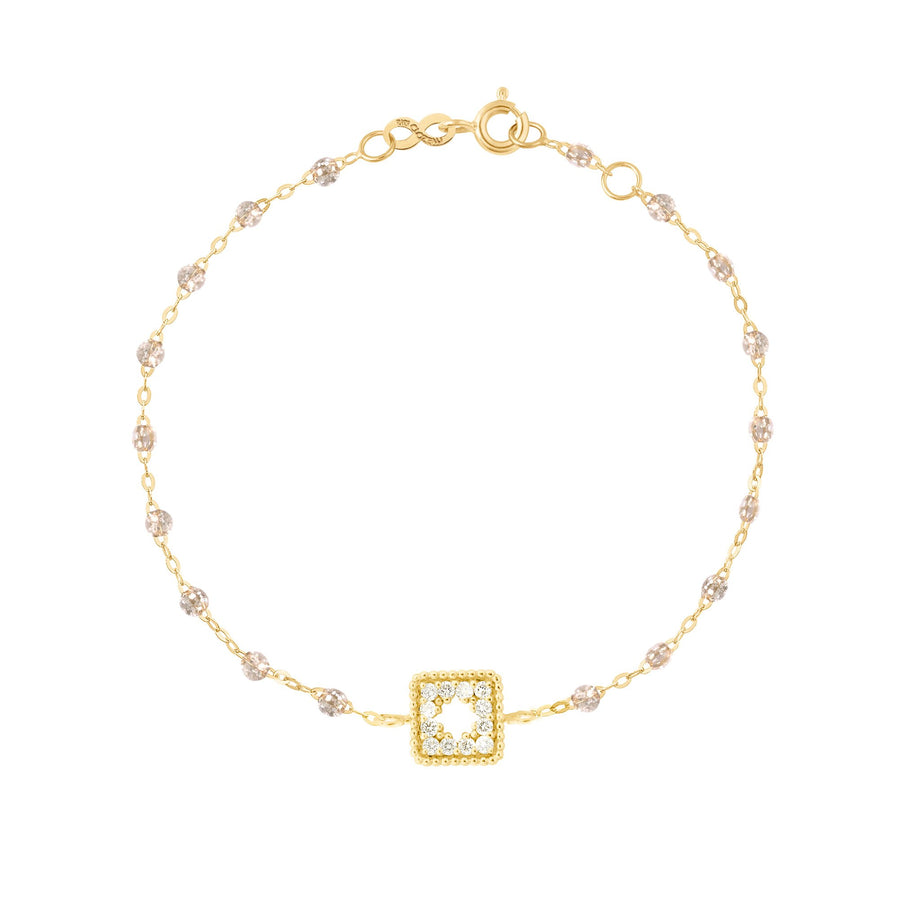 Gigi Clozeau - Classic Gigi Sparkle Treasure Bracelet, Yellow Gold, 6.7