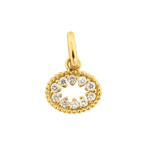 Gigi Clozeau - Me Hearty Pendant, Yellow Gold