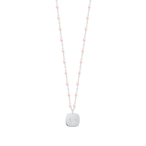 Gigi Clozeau - Miss Gigi Baby Pink diamond necklace, White Gold, 16.5