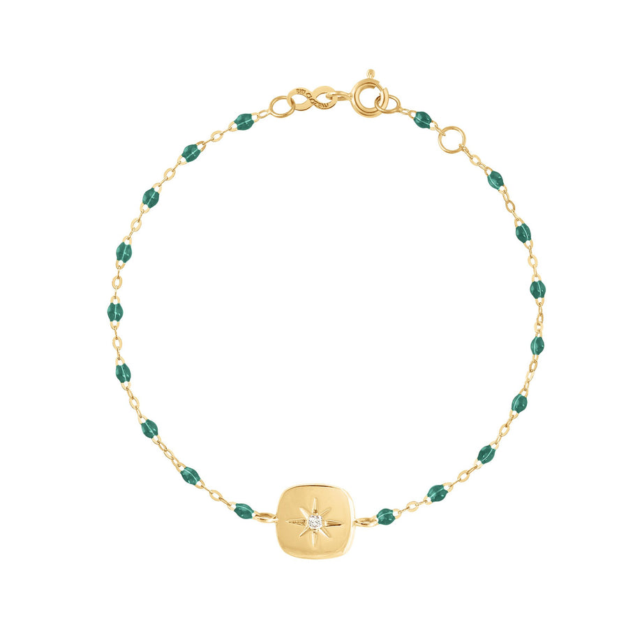 Gigi Clozeau - Miss Gigi Emerald diamond bracelet, Yellow Gold, 6.7