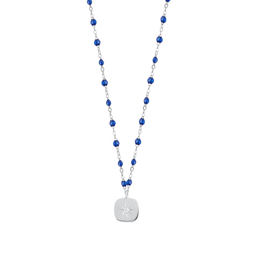 Gigi Clozeau - Miss Gigi Lapis diamond necklace, White Gold, 16.5