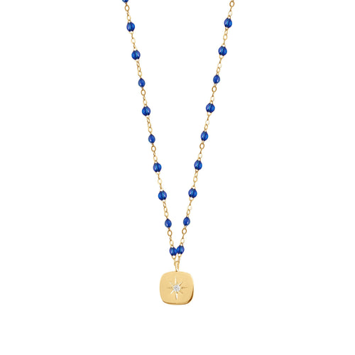 Gigi Clozeau - Miss Gigi Lapis diamond necklace, Yellow Gold, 16.5