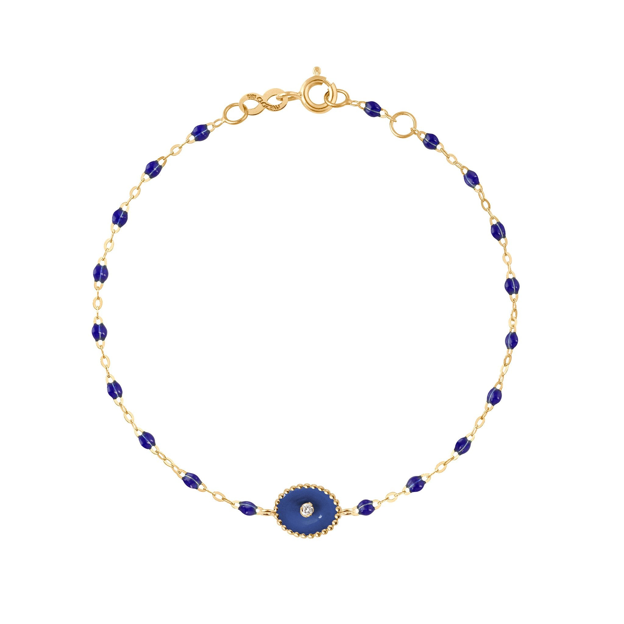 Gigi Clozeau - North Star Classic Gigi Lapis diamonds bracelet, Yellow Gold, 6.7