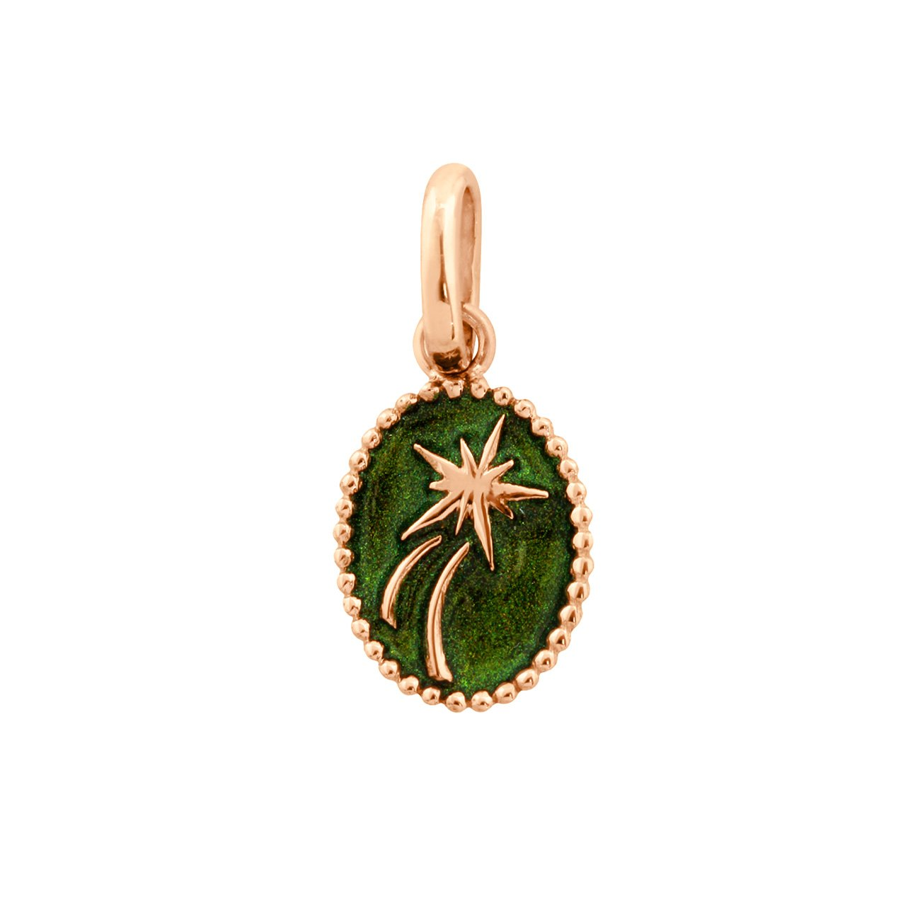 Gigi Clozeau - Shooting Star Pendant, Scarab, Rose Gold