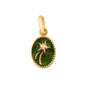 Gigi Clozeau - Shooting Star Pendant, Scarab, Yellow Gold