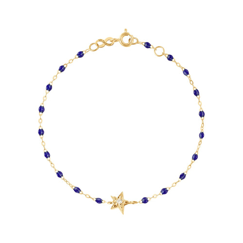 Gigi Clozeau - Star Classic Gigi Lapis diamonds bracelet, Yellow Gold, 6.7