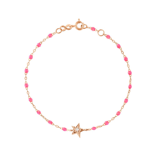 Gigi Clozeau - Star Classic Gigi Pink diamonds bracelet, Rose Gold, 6.7