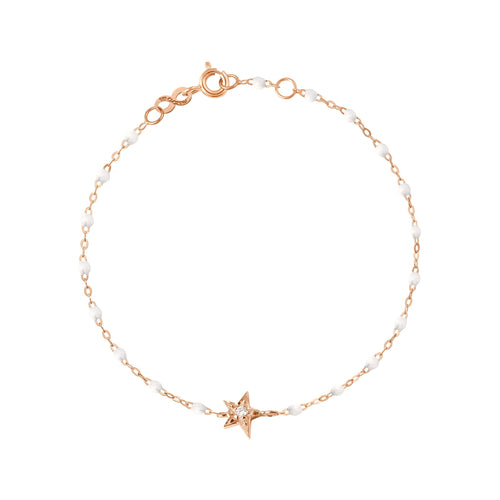 Gigi Clozeau - Star Classic Gigi White diamonds bracelet, Rose Gold, 6.7
